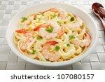 Pasta With Prawns Or Shrimp