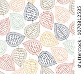 seamless pattern with hand...   Shutterstock . vector #1070812535