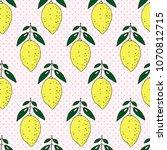 fashionable seamless pattern...   Shutterstock . vector #1070812715