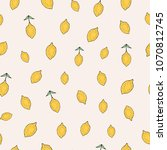 trendy seamless pattern with...   Shutterstock . vector #1070812745