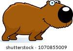 a cartoon illustration of a...   Shutterstock .eps vector #1070855009