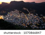 view of rocinha  the largest...   Shutterstock . vector #1070866847