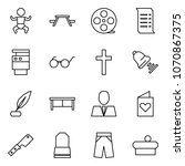 flat vector icon set   baby...