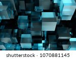 abstact modern background with... | Shutterstock . vector #1070881145