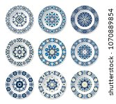 Set Of Decorative Plates With ...