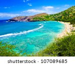 Snorkeling Bay In Oahu Hawaii