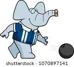a cartoon illustration of a... | Shutterstock .eps vector #1070897141