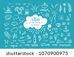 Vector Hand Drawn Clipart On...