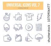 doodle vector universal generic ...   Shutterstock .eps vector #1070906477