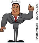 a cartoon businessperson... | Shutterstock .eps vector #1070922521