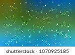 light blue  green vector... | Shutterstock .eps vector #1070925185