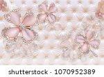 3d jewellery background... | Shutterstock . vector #1070952389