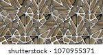 3d Silver Lattice Tiles On...