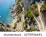 view on via krupp from augustus ... | Shutterstock . vector #1070956691