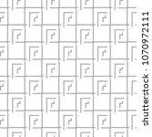 gray geometric ornament on...   Shutterstock .eps vector #1070972111