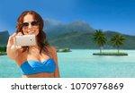 travel  tourism  summer... | Shutterstock . vector #1070976869