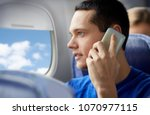 travel  tourism and technology... | Shutterstock . vector #1070977115
