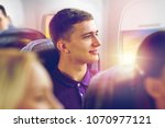 transport  tourism and air... | Shutterstock . vector #1070977121