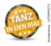 may day   german web button  ... | Shutterstock .eps vector #1070995271