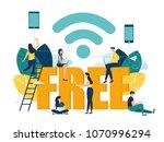 vector illustration  public...   Shutterstock .eps vector #1070996294