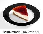 delicious dessert on white dish | Shutterstock . vector #1070996771