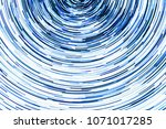 blue glowing lines. abstract...   Shutterstock . vector #1071017285