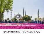 istanbul  turkey   april 16 ...   Shutterstock . vector #1071034727