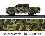 modern camouflage design for...   Shutterstock .eps vector #1071038765