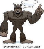 a cartoon illustration of a... | Shutterstock .eps vector #1071046085