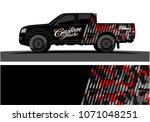 truck graphics. modern... | Shutterstock .eps vector #1071048251