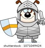 a cartoon illustration of a dog ... | Shutterstock .eps vector #1071049424