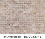Travertine Mosaic Bricks Beige...