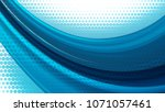 vector striped line. eps10 with ... | Shutterstock .eps vector #1071057461