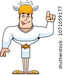 a cartoon hermes looking drunk. | Shutterstock .eps vector #1071059177