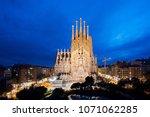 barcelona  spain   april 10... | Shutterstock . vector #1071062285