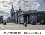 town house and union street ...   Shutterstock . vector #1071064631
