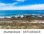 spectacular ocean landscape... | Shutterstock . vector #1071101615