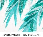 artists oil paints multicolored ...   Shutterstock . vector #1071120671
