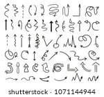infographic elements on... | Shutterstock . vector #1071144944