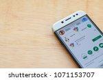 bekasi  west java  indonesia.... | Shutterstock . vector #1071153707