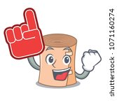foam finger medical gauze... | Shutterstock .eps vector #1071160274