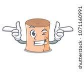 wink medical gauze character... | Shutterstock .eps vector #1071160991
