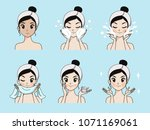 demonstrate the process of... | Shutterstock .eps vector #1071169061