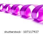 gift ribbon isolated on white | Shutterstock . vector #107117927