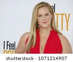 amy schumer at the los angeles... | Shutterstock . vector #1071214907