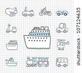 Spotless series | Transportation,car icon set