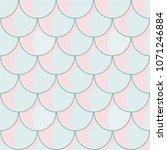 mermaid vector seamless pattern ...   Shutterstock .eps vector #1071246884