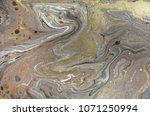marble abstract acrylic... | Shutterstock . vector #1071250994