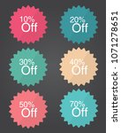 "vector flat icon ""percentage... 