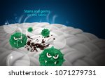 stains and germs are embedded... | Shutterstock .eps vector #1071279731